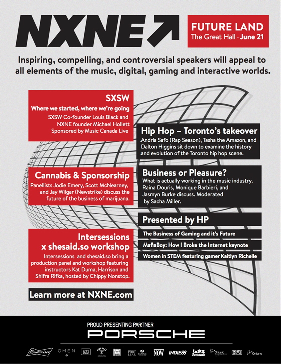 NXNE Details Future Land Conference