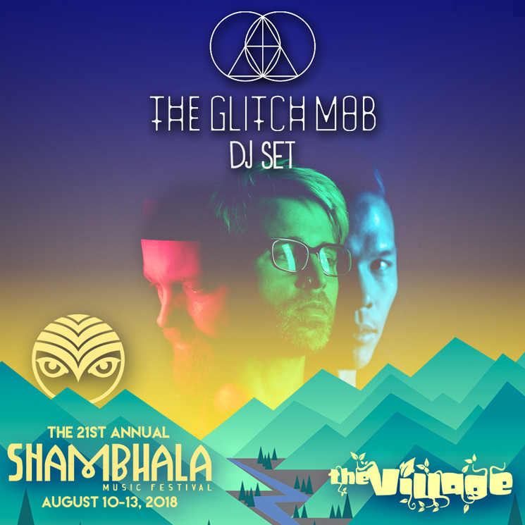 Shambhala Gets the Glitch Mob, REZZ for 2018 Edition