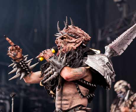 Gwar Molson Canadian Stage, Montreal QC, August 10