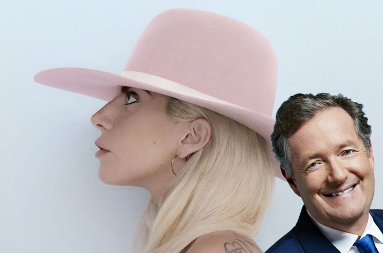 Lady Gaga Agrees to Piers Morgan Interview After He Belittled Her Rape Allegations