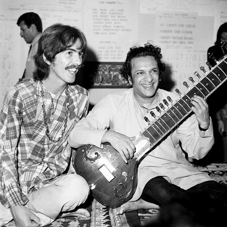 George Harrison's Sitar Heads to Auction