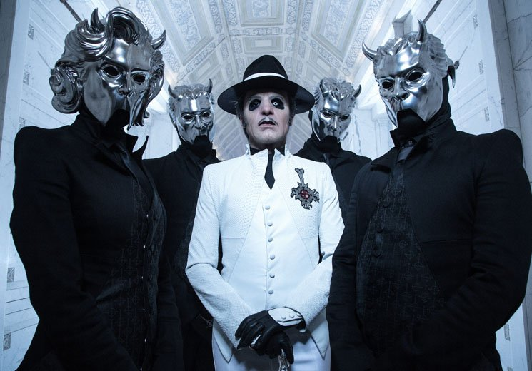Ghost Kill the Band and Papa Emeritus III so Ghost and Cardinal Copia Can Live on 'Prequelle'