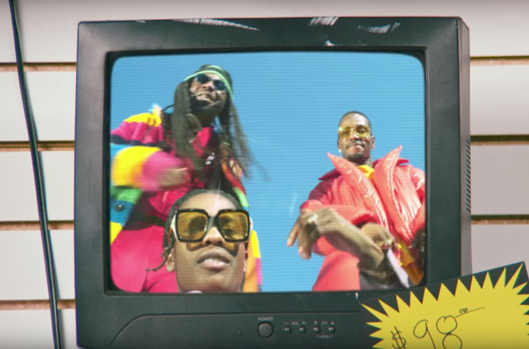 D.R.A.M. 'Gilligan' (ft. A$AP Rocky and Juicy J) (video)