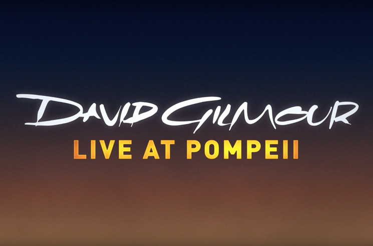 Watch the Trailer for David Gilmour's 'Live at Pompeii' Concert Film