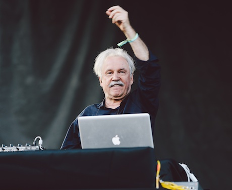 Giorgio Moroder Red Stage, Union Park, Chicago IL, July 18