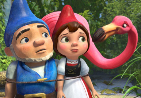 Remedy Those February Blues with <i>Gnomeo & Juliet</i>, <i>Just Go With It</i> and <i>Cedar Rapids</i> in This Week's Film Roundup