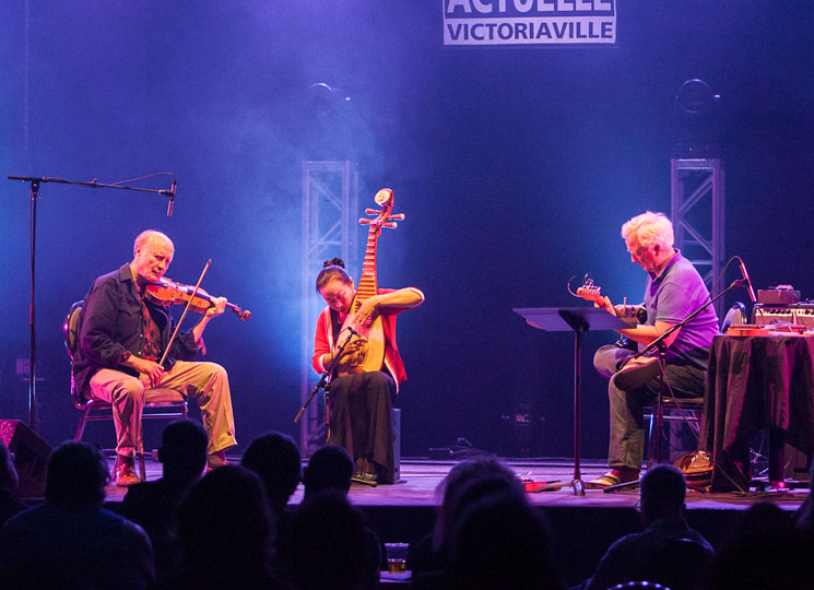Malcolm Goldstein / Liu Fang / Rainer Wiens FIMAV, Victoriaville QC, May 18