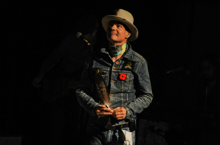 Gord Downie Roy Thomson Hall, Toronto ON, October 21