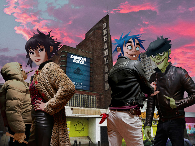 Watch Gorillaz and More Perform at Demon Dayz via Red Bull TV and Exclaim!'s Live Stream