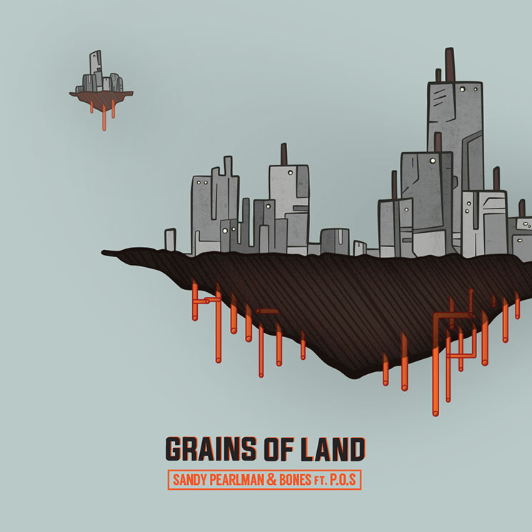 Sandy Pearlman & Bones 'Grains of Land' (ft. P.O.S)