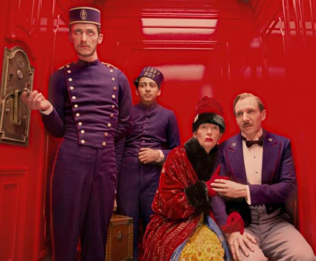 The Grand Budapest Hotel [Blu-ray] Wes Anderson