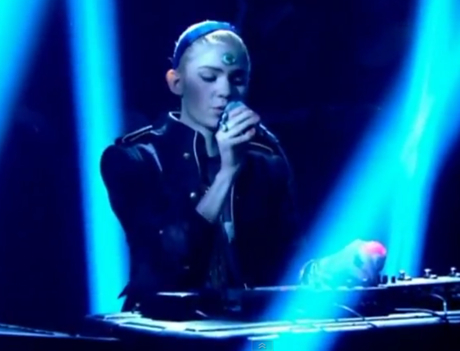 Grimes 'Genesis' (Live on 'Later With Jools Holland')