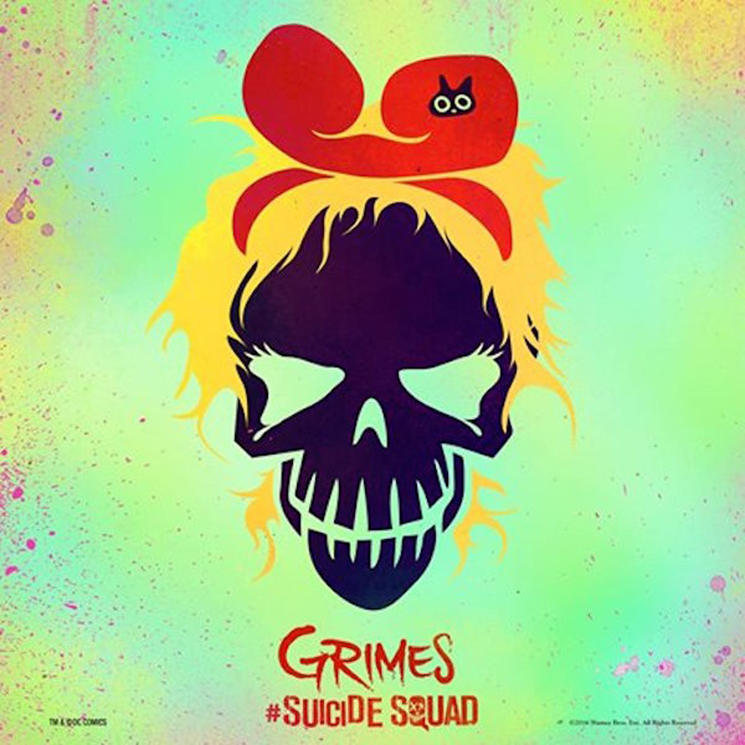 "Grimes Shares ""Medieval Warfare"" from the 'Suicide Squad' Soundtrack"
