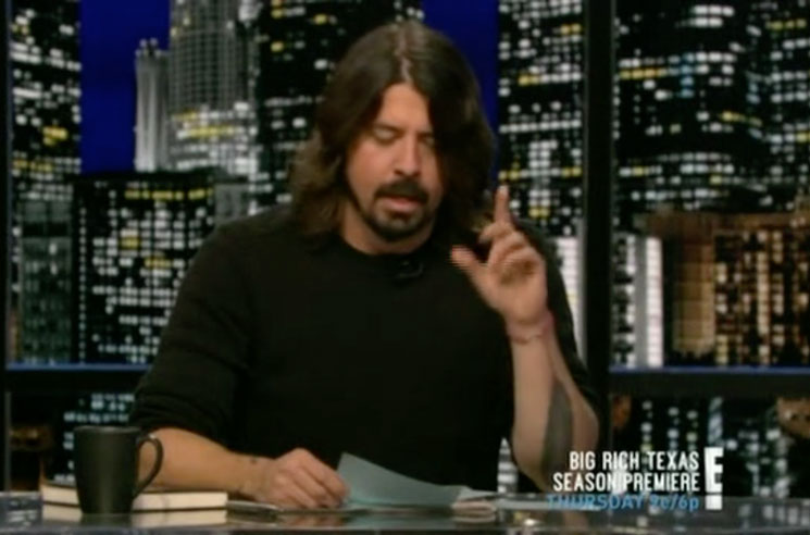 Dave Grohl Will Guest Host an Episode of 'Jimmy Kimmel Live!'