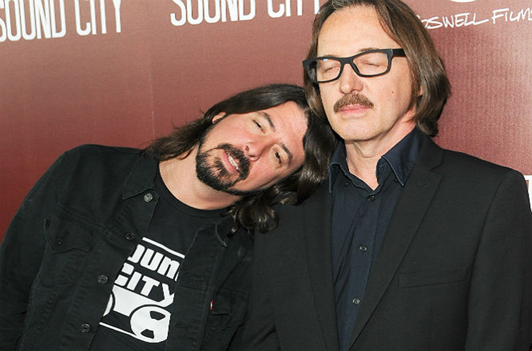 Dave Grohl Is Working with Butch Vig on Secret New Project
