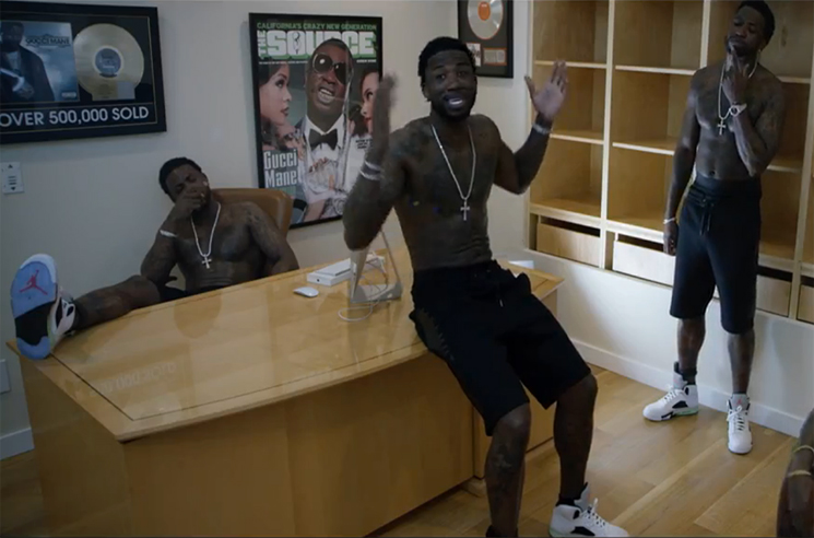 "Gucci Mane ""First Day Out Tha Feds"" (video)"