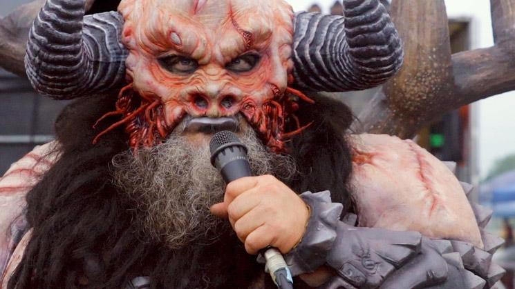 Gwar Singer Blothar Wants to Defile Donald Trump's Son Barron