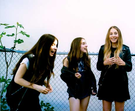 HAIM Map Out 2014 North American Tour, Play Toronto and Vancouver