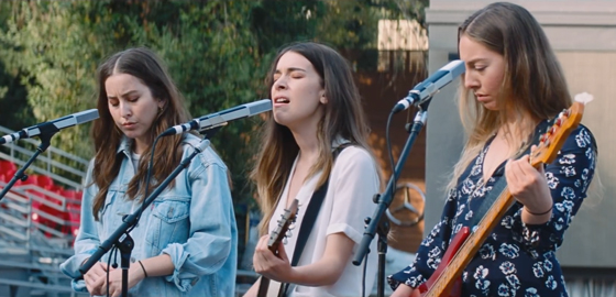 "HAIM Team with Paul Thomas Anderson for ""Night So Long"" Video"