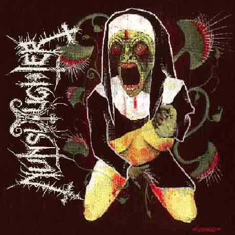 Nunslaughter / Antiseen Split
