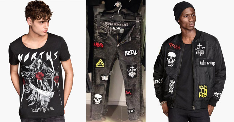 H&M Pranked After Releasing Clothing Line with Fake Metal Bands