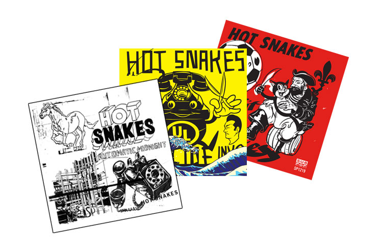 Hot Snakes Launch Reissue Campaign