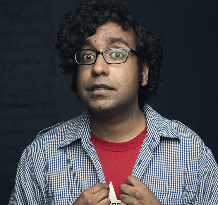 Hari Kondabolu JFL42, Royal Theatre, Toronto ON, September 26