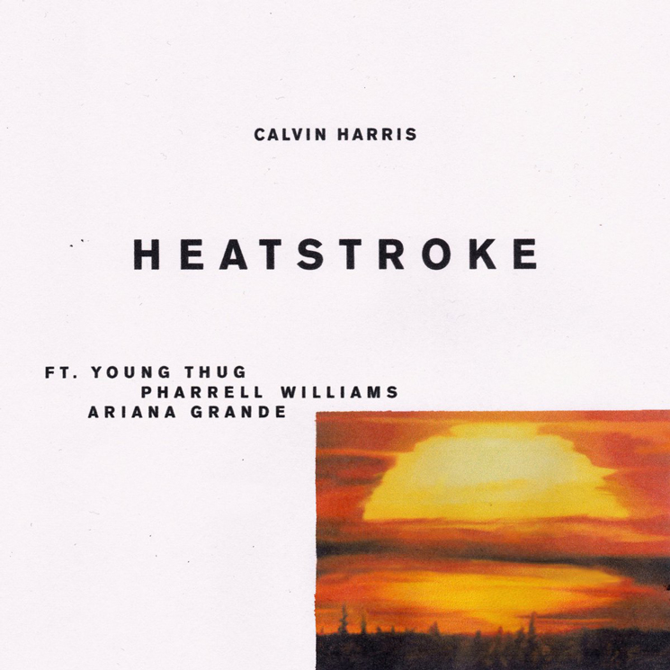 "Calvin Harris Gets Young Thug, Pharrell and Ariana Grande for ""Heatstroke"""