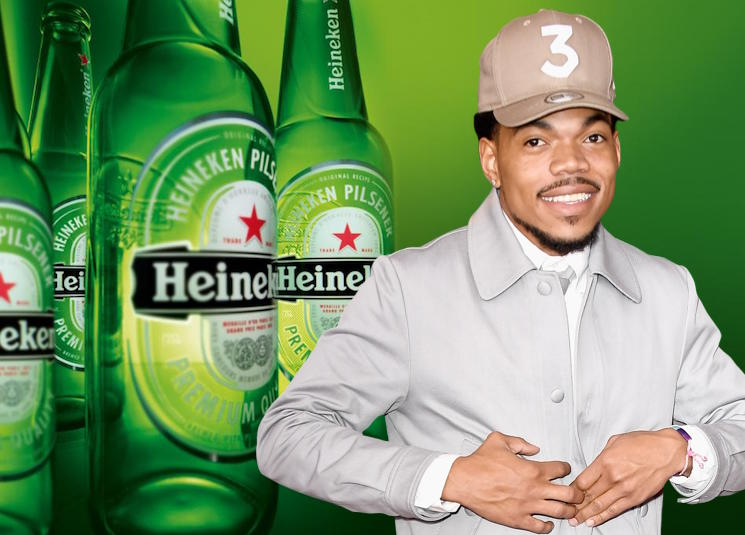 Heineken Pulls Beer Ad After Chance the Rapper Deems It 'Terribly Racist'