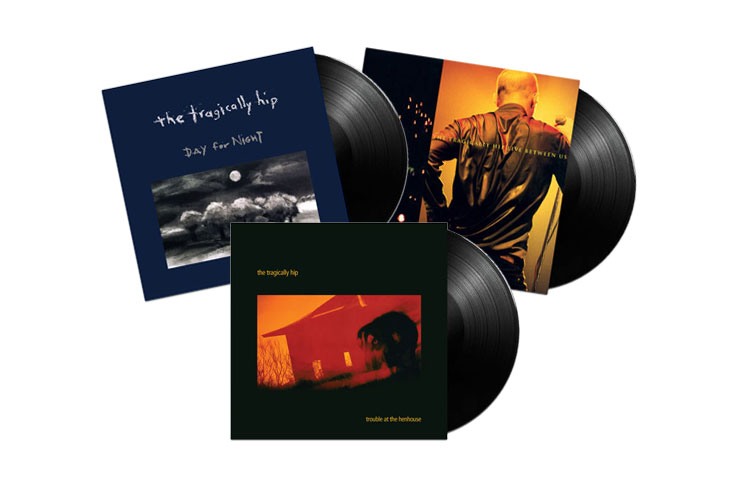 Tragically Hip Reveal Vinyl Reissues of 'Day for Night,' 'Trouble at the Henhouse' and 'Live Between Us'