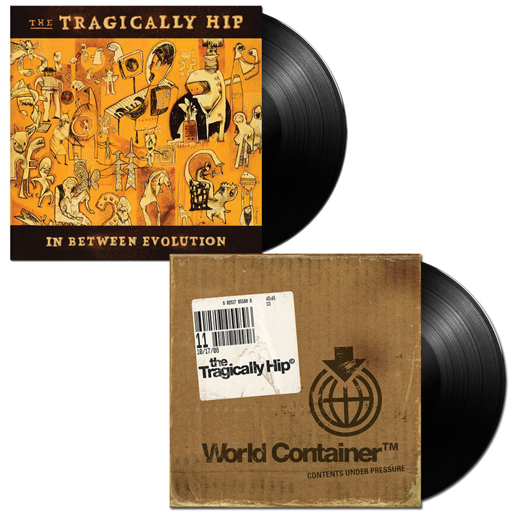Tragically Hip Bring 'In Between Evolution' and 'World Container' to Vinyl