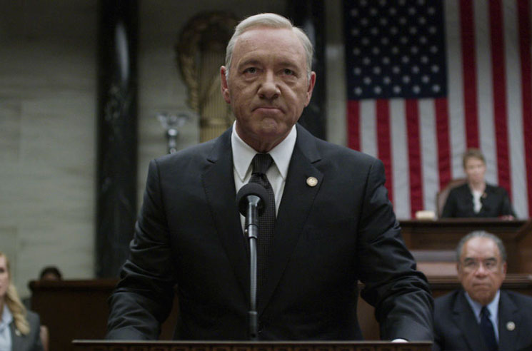 'House of Cards' Halts Production on Sixth Season Following Kevin Spacey Allegations