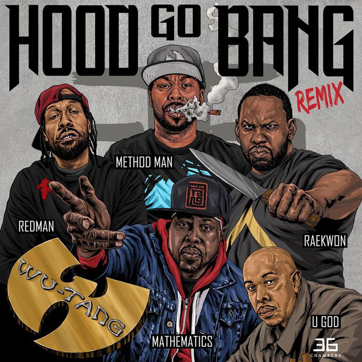 "Wu-Tang ""Hood Go Bang!"" (remix ft. Raekwon, Mathematics & U-God)"