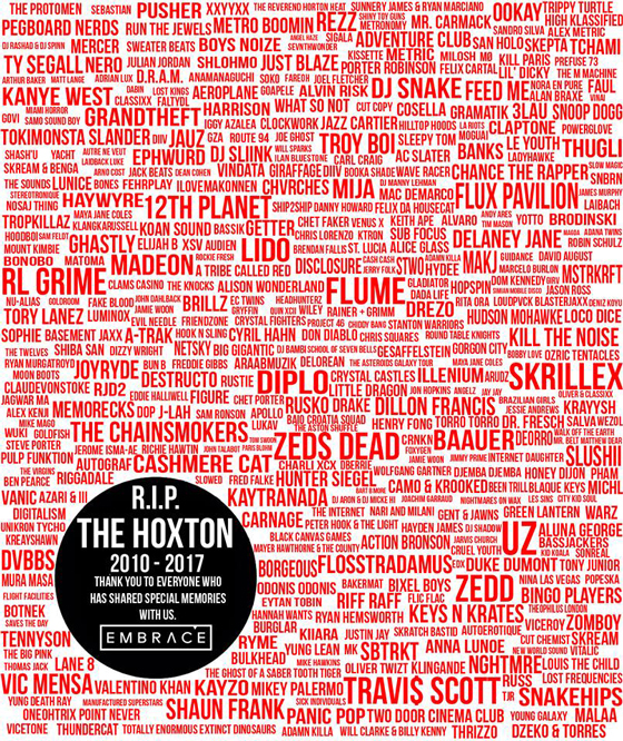 Toronto Club the Hoxton Announces Closure