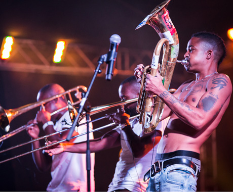 Hypnotic Brass Ensemble Festival Tent, Halifax NS, July 5