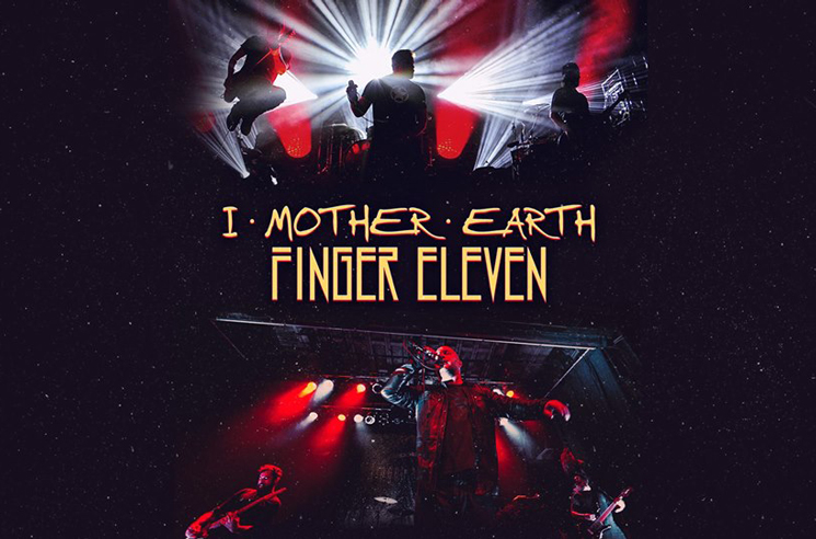 I Mother Earth and Finger Eleven Map Out Canadian Tour