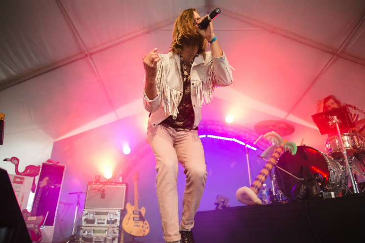 The Darcys Rifftop Tent Stage, Victoria BC, September 18