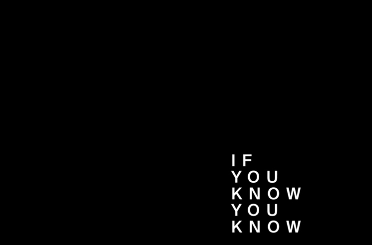 "Pusha-T ""If You Know You Know"" (lyric video)"