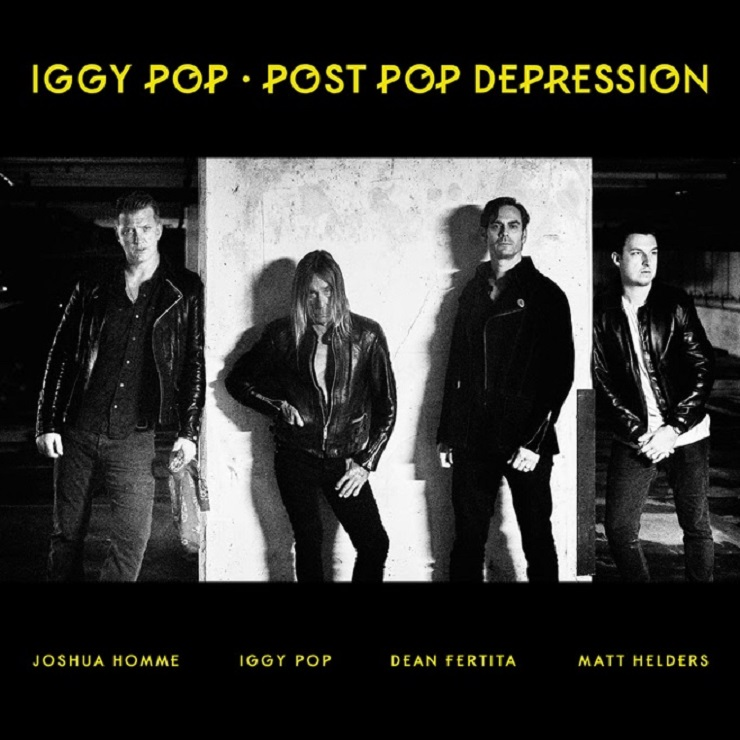 Iggy Pop 'Post Pop Depression' (album stream)