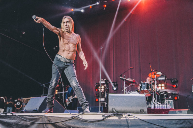 Iggy Pop Parc Jean-Drapeau, Montreal QC, August 8