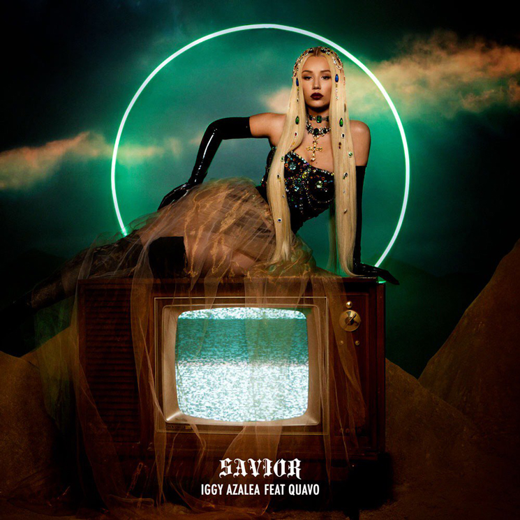 "Iggy Azalea Teams Up with Migos' Quavo for ""Savior"""