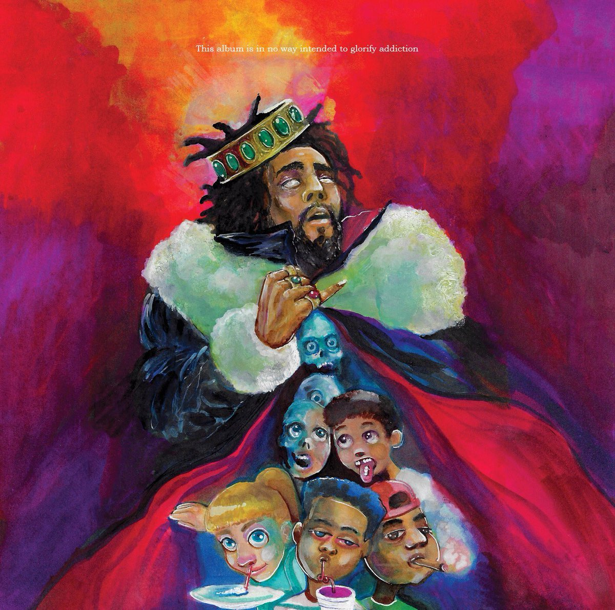 Cole has revealed artwork and tracklisting for new album KOD