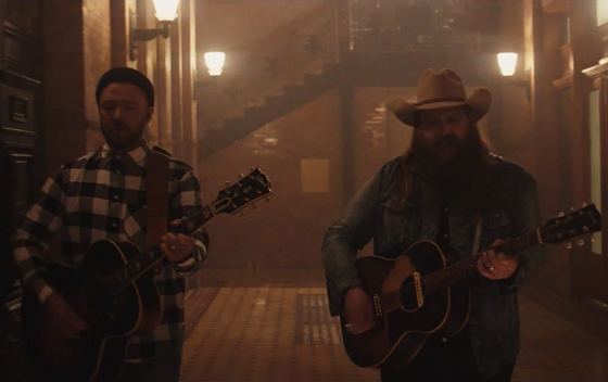 "Justin Timberlake ""Say Something"" (ft. Chris Stapleton) (video)"