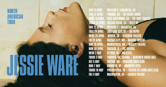 Jessie Ware Maps Out North American Tour