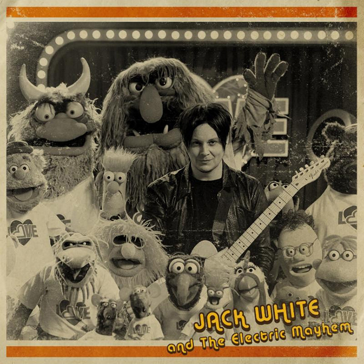 Jack White Covers Stevie Wonder on 'The Muppets,' Plans New 7-inch