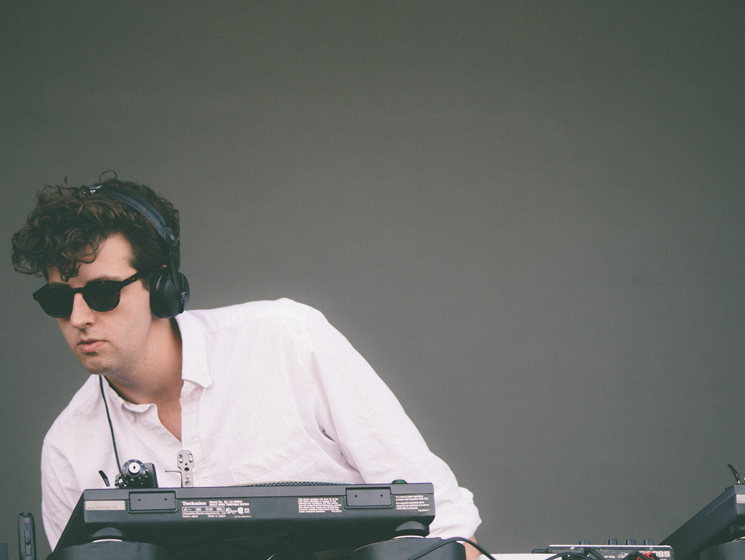 Jamie xx Woodbine Park, Toronto ON, June 11