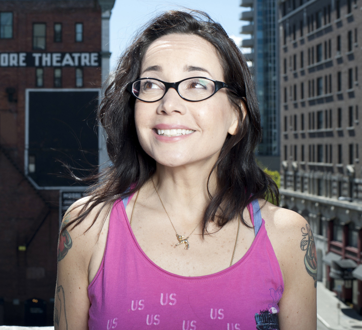Janeane Garofalo Mainline Theatre, Montreal QC, July 25