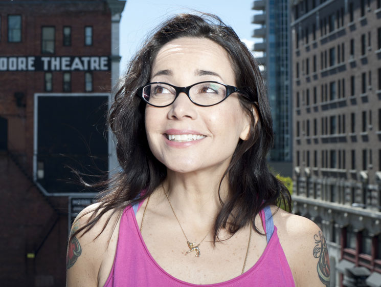 Janeane Garofalo JFL42, Queen Elizabeth Theatre, Toronto ON, July 22
