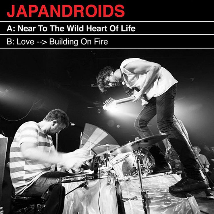 "Hear Japandroids Cover Talking Heads' ""Love → Building on Fire"""