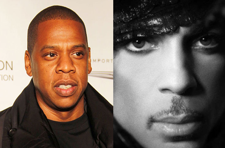 Jay-Z and Tidal are working on a new Prince album